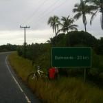 Belmonte - 20 km und somit 40 km hinter mir